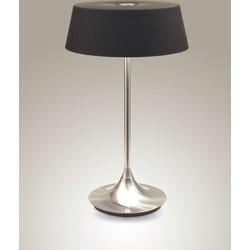 Linea Verdace Tafellamp Notär - H51 Cm - Zwart Glas/Mat