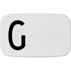 Design Letters Personal Lunch Box - G