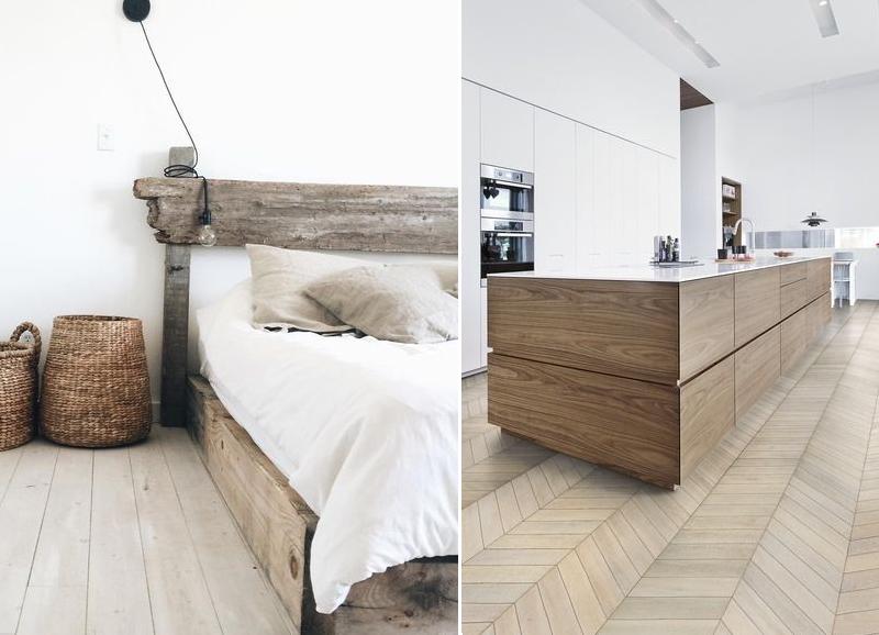 Lichtgrijs Eiken Meubels : Zo combineer je je houten vloer met houten meubels alles om van