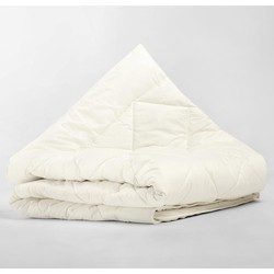 Sleeptime Percale Cotton Wool Touch 4-Seizoenen Cream-140 x 220 cm