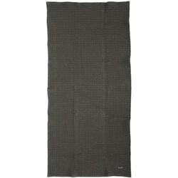Ferm Living Towel - 100 x 50 cm. Dark grey