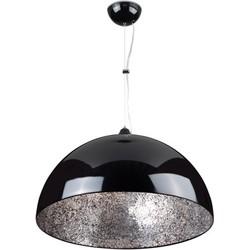Linea Verdace Hanglamp Cupula Mirror Zilver Ø50 Cm - Zwart
