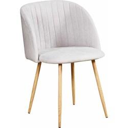 Flow stoel - grijs - set van 2