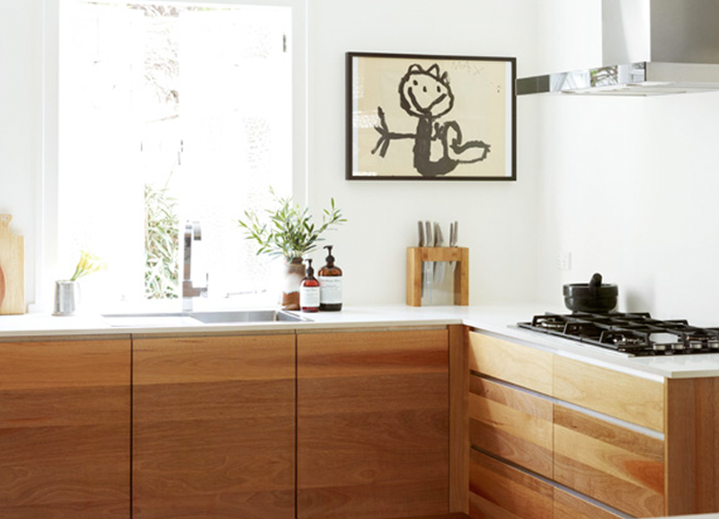 Au Naturel: Wooden Kitchen Cabinets