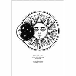 Sun & The Moon (70x100cm)