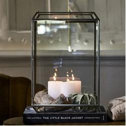 Riviera Maison French Glass NYC Lantern L