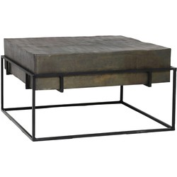 Light&Living Salontafel Calera Brons 35 x 64 x 64