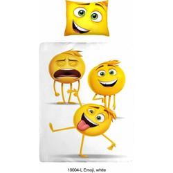 Dekbedovertrek Emoji - 140x200cm + 1 kussensloop 60x70cm