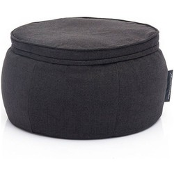 Ambient Lounge Poef Wing Ottoman - Black Sapphire