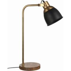 Casa Vivante jerom bureaulamp zwart maat: 32 x 20 x 61cm