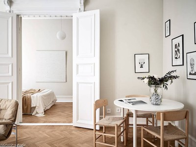 Interior crush: Scandinavisch appartement in neutrale kleuren