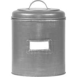 LABEL51 - Opbergblik 20x20x25 cm l Xl - Industrieel - Antiek grijs