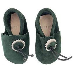 Mini babouches Navy Green