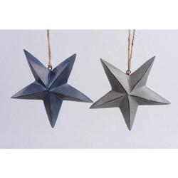 Kersthangers ster (set van 2)
