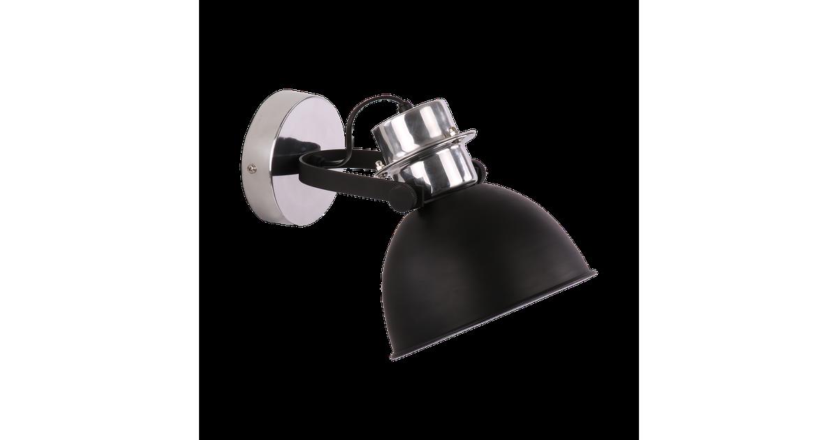 Wandlamp Prato klein Mat Zwart