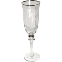 Clayre & Eef Champagneglas Ø 7x21 cm