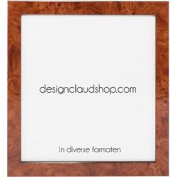 Houten wissellijst Wortelnoot - Fotolijst - Diverse formaten - 70x70 cm