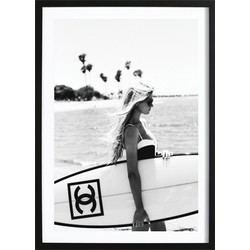 Chanel Surfboard Poster (21x29,7cm)