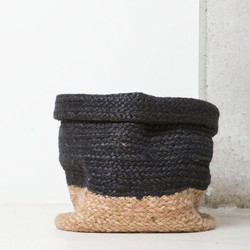 Braided Basket - Blue