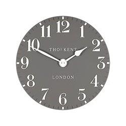 Thomas Kent Cotswold Wall Clock, Dia.30cm, Grey