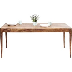 Kare Design Tafel Brooklyn Nature - 175x90x76 - Sheeshamhout