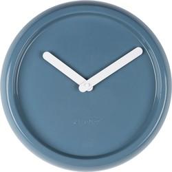 Zuiver Klok Ceramic Time blauw Ø35 x 10