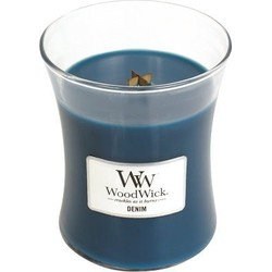 Woodwick Denim medium candle
