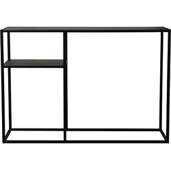 Scapa Home Iron Sidetable 95 x 65 cm - Zwart