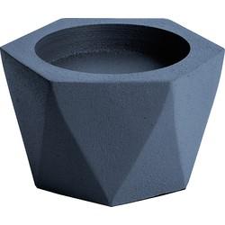 pt, Pillar Kandelaar Nimble Aluminium 6 x Ø10 cm - Nachtblauw