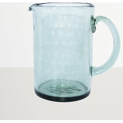 Urban Nature Culture Jug recycled glass Ocean