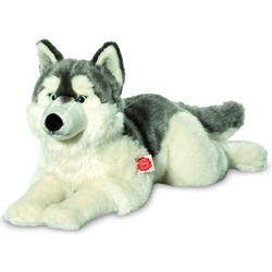 Knuffel Hond Husky Liggend - Hermann Teddy