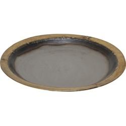 Iron Silver Gold - 58.0 x 58.0 x 5.0 cm