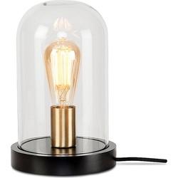 It's About Romi Seattle Tafellamp Glas Ø 18x 29,5 cm - Zwart
