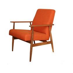 Mid-Century fauteuil Hanna Lis - oranje