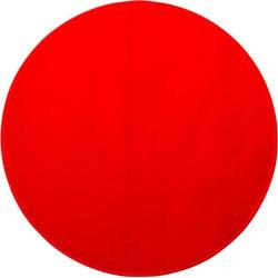 Karpet Banton - Rood - 80 cm Rond