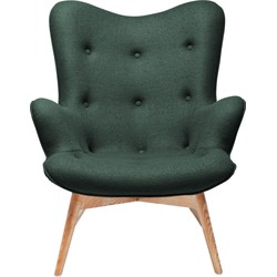 Kare Design Fauteuil Angels Wings - Forest Green