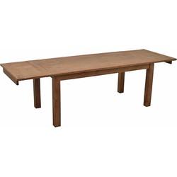 Livingfurn Eettafel  Antika Koplat 78 x 200/250/300 x 100