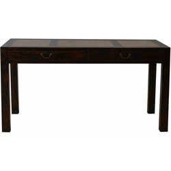 Fine Asianliving Chinees Sidetable Marmer Bovenblad met Lades - Beijing, China