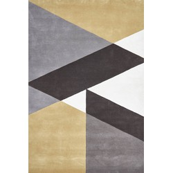 Claire Gaudion Sark Coupee Taupe - 120 x 180 cm