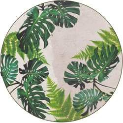 Finally Vinyl Tropical Leaves - 196 x 196 cm