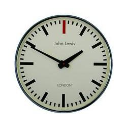 Lascelles Personalised Case Clock, Dia.45cm, Chrome