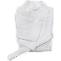 Badjas Wafel kort white - 100% Katoen