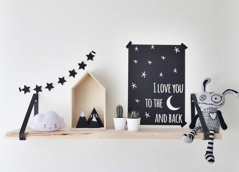 Zo decoreer je een Scandinavische babykamer