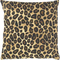 Kussenhoes Jodie 45x45 cm bruin