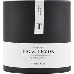 Nicolas Vahe - Thee - Green tea - Fig and Lemon