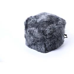 Extreme Lounging poef b-box Indoor Sheepskin Grijs