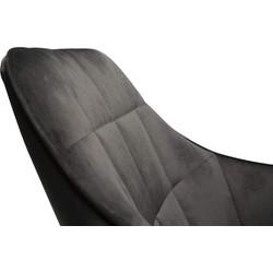 Dan-Form Embrace Loungefauteuil - Zwart Fluweel