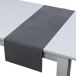 Rechthoekige tafelloper antracietgrijs
