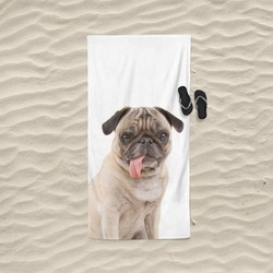 Nightlife - Strandlaken - Pug - Badstof