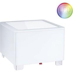 Moree Ora LED Salontafel 60x60x45 - Wit